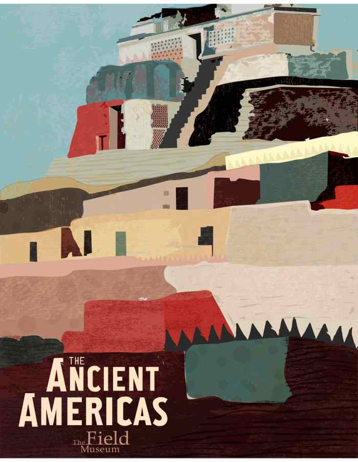 chicago field museum_ancient americas poster